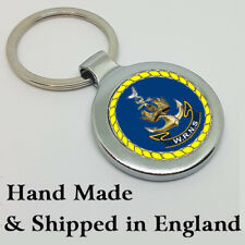 WRNS Women's Royal Naval Service Key Ring - A Great Gift