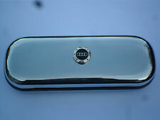 AUDI TT R8 A4 car brand new chrome glasses case great gift!!! Birthday Xmas