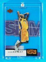 UD Slam Kobe Bryant Lakers Legend Clear Acetate Spectacular SP Insert HOF Mamba
