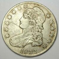 1832 Capped Bust Half Dollar 50C Coin - VF / XF Details - Rare Coin!