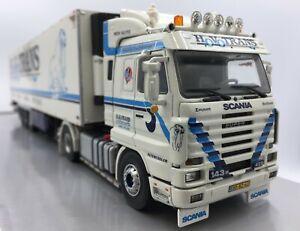 WSI Hovotrans Scania 143 Streamline & Fridge trailer. Immaculate & Boxed 1/50
