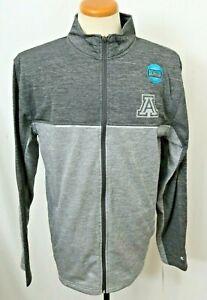NEW Arizona Wildcats Colosseum Gray Heathered Reflective Jacket shirt LS Men's L