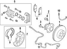 Genuine Nissan Juke F15 2010>2014 Rear Brake Pads - D4M609N00B