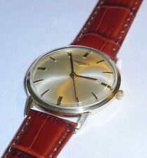 Longines 9ct Gold Gents Watch,1970,s Manual Winding
