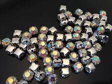 Zum Aufnähen Strass Edelsteine Ab Kristalle Diamanten für Hochzeit Arts AAA Grad