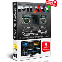 Pro DJ Mixing Software + Music Production Studio Audio Editing Recording PC