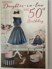 Daughter-in-Law 50th Birthday Card