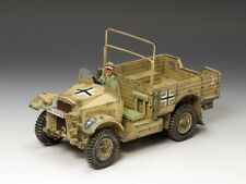 King & Country Soldiers AK077 WWII Afrika Korps Morris CS8 British 15 Cwt Truck