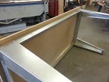 Garage bench.Carpenters bench, Metal workbench, Industrial bench.engineers bench