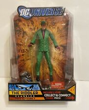 DC Universe Classics The Riddler WAVE 5 Metallo Collect & Connect