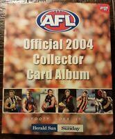 AFL Herald Sun Official 2004 Collector Card Album Complete Set 180 Cards
