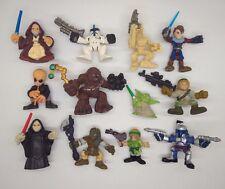 12PCS Star Wars Galactic Heroes Yoda CHEWBACCA Stormtrooper E13S