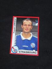 LEBOEUF    RC STRASBOURG   Image sticker N° 291  FOOT 95  PANINI 1995 FOOTBALL
