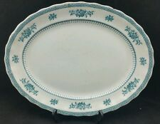"""Losol Ware 14 1/2"""" Long by 11"""" wide approx Serving Platter Floral Border"""