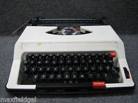 Refurbished Royal ME-25 Roytype Portable Manual Typewriter, hard case SOLD AS IS