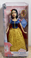 "Disney Store Snow White Classic Doll with Pendant Snow White 11 1/2"""