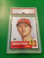 2018 Topps Living MLB Shohei Ohtani RC Rookie Card #7 Angels - PSA 10 GEM MINT