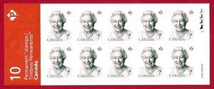 Canada   # BK637  Queen Elizabeth II Historic Reign      New  2016 Booklet Issue