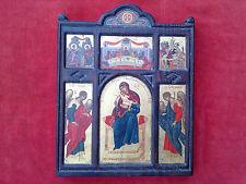 Vintage Greek icon Orthodox Christianity