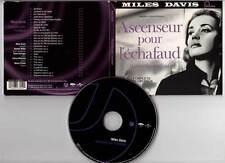 ASCENSEUR POUR L'ECHAFAUD - Miles Davis,Louis Malle (CD Digipack BOF/OST) 2003