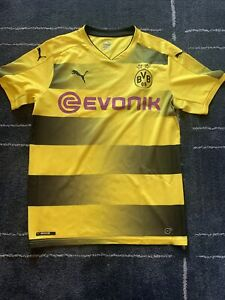 Puma Dortmund Pulisic Yellow Jersey - Medium