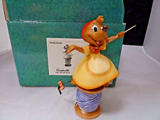 Mint in Box WDCC Cinderella Needle Mouse We Can Do it!Figure!Great Buy!!