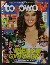 BERENICE MARLOHE  mag.FRONT cover No 43 ,Poland  Bruce Willis,Asterix and Obelix