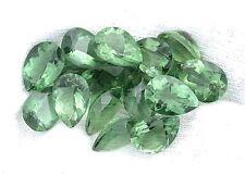 ONE 10x7 10mm x 7mm Pear Teardrop Green Quartz Gem Stone Gemstone EBS1773