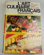 L'art culinaire Français Pellaprat Urbain-Dubois Escoffier impression de 1973