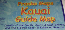 Kauai Hawaii Dive & Snorkeling Guide Map Laminated Poster by Franko Maps
