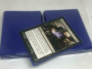 Lenayuyu 100pcs Darkblue Protector Standard MTG Card Sleeves 66x91mm Glossy