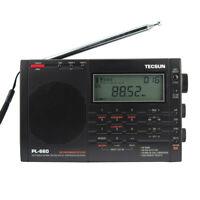 Tecsun PL-660 Radio FM Stereo LW MW SW-SSB AIR Synthesized World Band Receiver