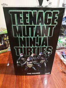 """NECA Teenage Mutant Ninja Turtles TMNT 2018 SDCC 1990 7"""" Action Figure Toy"""