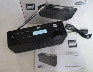 Dual DAB 85 Kofferradio DAB+, UKW und Akku wiederaufladbar