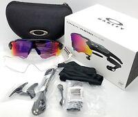NEW Oakley Radar Pace sunglasses Black Prizm Road + Clear Smart Glasses 9333-01