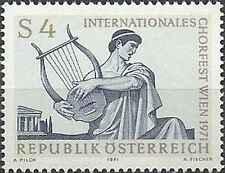 Timbre Musique Autriche 1194 ** lot 11339
