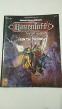 RQ3 FROM THE SHADOWS RAVENLOFT DUNGEONS & DRAGONS AD&D 2ND ED 9375 - 2 WITH MAP