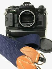 【EXC+++++】Canon AE-1 PROGRAM Film Camera w/ Power Winder A2 From Japan