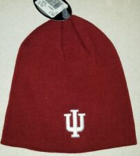 NWT Top of the World Adult INDIANA UNIVERSITY IU Knit Cap WINTER Hat RED #150216