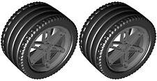 Lego EV3 XL Tires + Wheels  (robot,tyre,technic,racer,porsche,smooth,zr,rob,car)