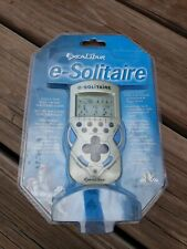 SOLITAIRE e-solitaire Electronic Handheld Travel Game Excalibur Pocket Size