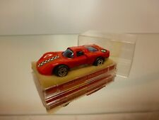 POLITOYS J16  ALFA ROMEO 33 - RED 1:66 - GOOD CONDITION IN BOX