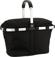 CarryBag Reisenthel Collapsible Bag Iso Insulated w Lid Black Htf Picnic Shopper