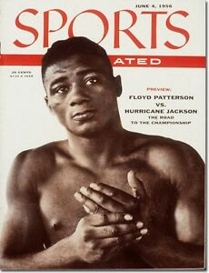 June 4, 1956 Floyd Patterson, Boxing  NO LABEL Newsstand