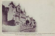 CPA 49 SAUMUR Chateau de Souzay