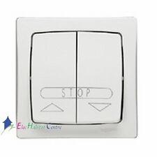 Bouton poussoir volet roulant appareillage saillie complet blanc- Legrand 86010