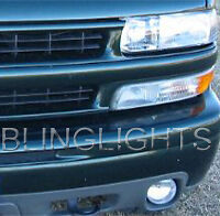 XENON HALOGEN FOG LIGHTS LAMPS For 2000-2010 CHEVY TAHOE / SUBURBAN
