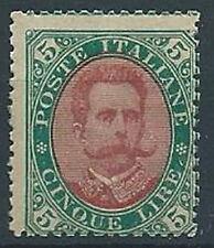 1889 REGNO UMBERTO I 5 LIRE MNH ** - RR13264