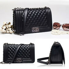 New Fashion Women Shoulder Bag Quilting Chain Cross Body Satchel Ladies Handbag