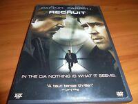 The Recruit (DVD, Widescreen 2003)
